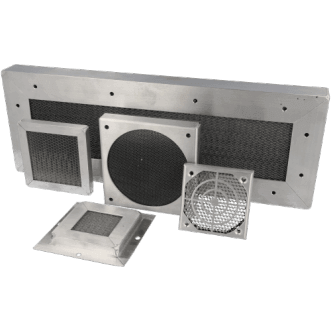9500 Honeycomb vents