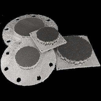 9505 Frameless Honeycomb vents