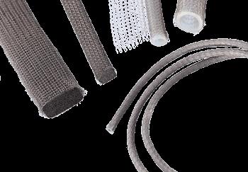 Metal knit EMI/RFI gasket