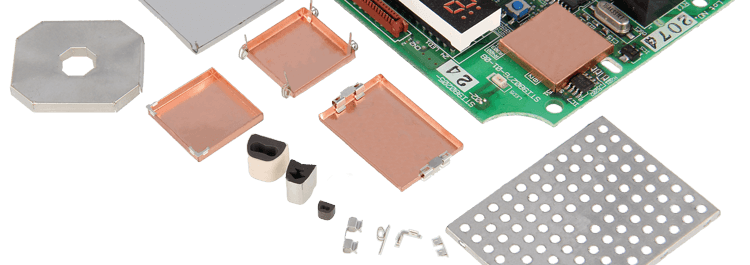 1500-Clip-on PCB shielding system