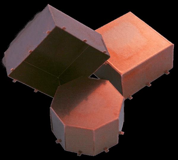 PCB Abschirmung Blech mit Fußabdruck für direkte SMD-Montage