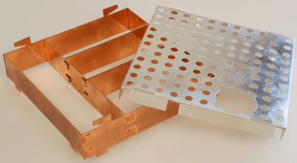 Custom made PCB shielding