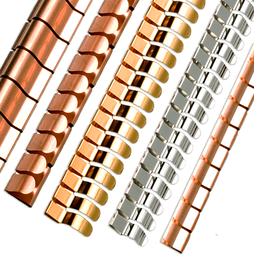 Example image of the 2100 series Clip-on mounting Fingerstrip series