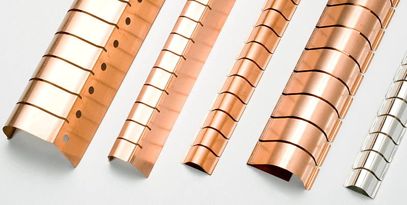 Angle fingerstrips ideal for 90° applications