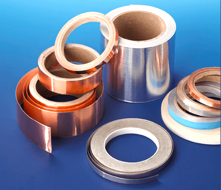 All EMI shielding tapes can be supplied in any desired width