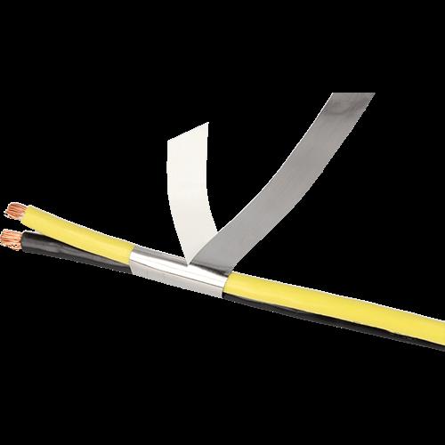 Mu-ferro tape for cable shielding