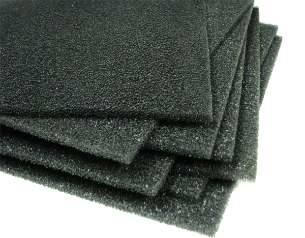 Microwave absorber foam