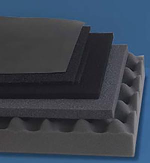 Microwave absorber foam