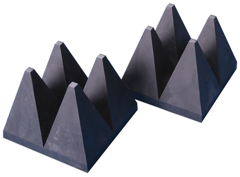 3630 series Wide band hybrid pyramide EM absorbers