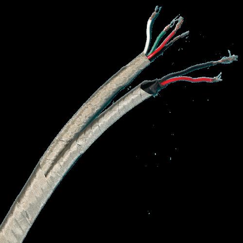 Flexible cable shield