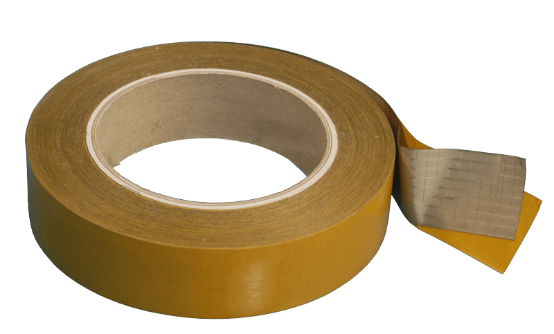 Conductive textile tape with conductive self-adhesive (partnumber 4713)