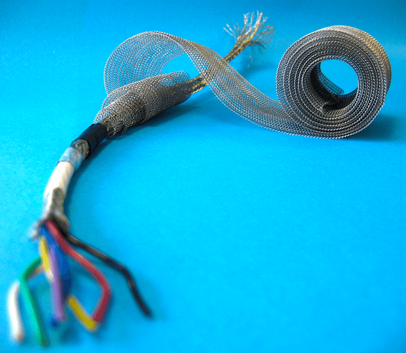 Wrapshield Is A Knitted Wire Mesh For Grounding  U0026 Emi  Rfi