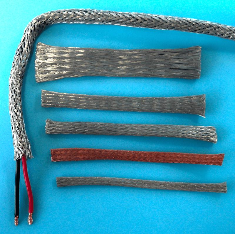 Flexible EMI-shielding tube for EMI / RFI cable shielding and grounding