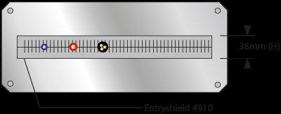 EMI / RFI afgeschermde kabel entry systeem | Entryshield onmiddellijke versie 4915