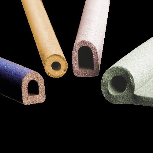 Geleidend rubber profielen