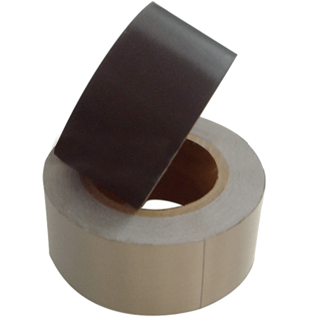 Electrically conductive foam tape can be delivered on rolls in every width