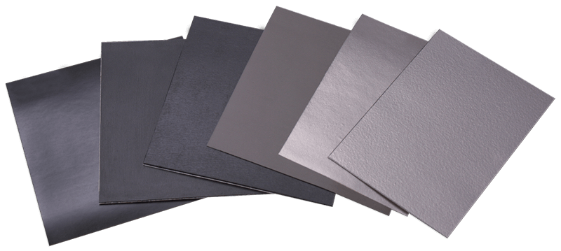 Several types of flexible EMI absorber sheets