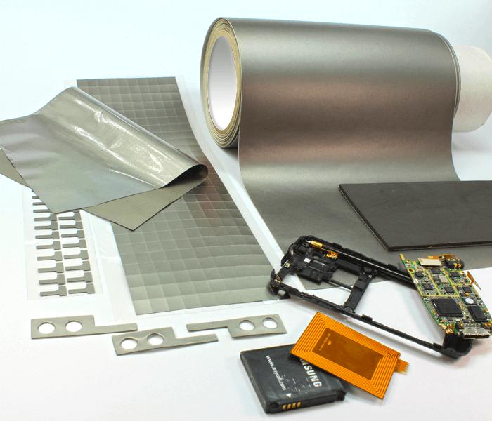 Hoogwaardige EMI / RFI absorber platen kunnen in elke gewenste vorm worden gesneden