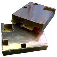 Hochpräzise elektrisch leitfähige Folie Form für EMC / RFI Abschirmung