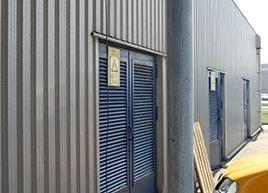 Transformer rooms doors