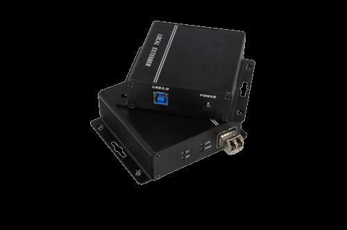 7896 USB 3.0转换器转换器由两个单元组成。一个在屏蔽空间外面,一个在屏蔽空间内