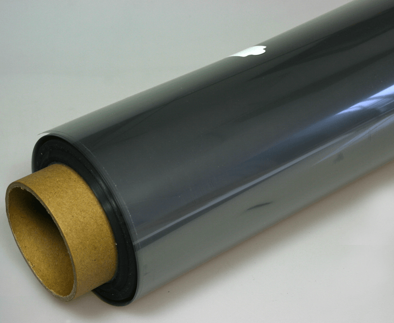 Transparent EMI shielding copper grid PET film delivery rolls