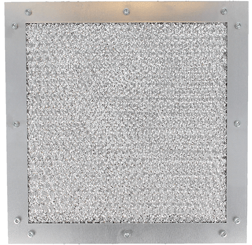 9510 series EMC Dust filter ventilation panel Frame type A front