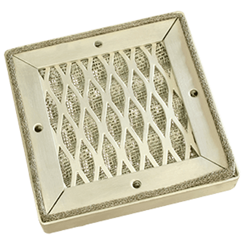 Panel de ventilación de malla tejida EMC