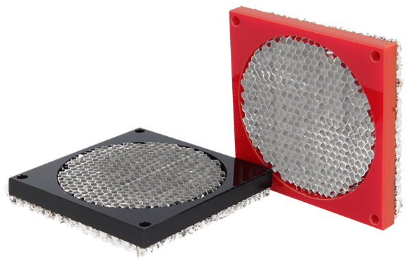 9530 series - Honeycomb fan shield are available in different colours