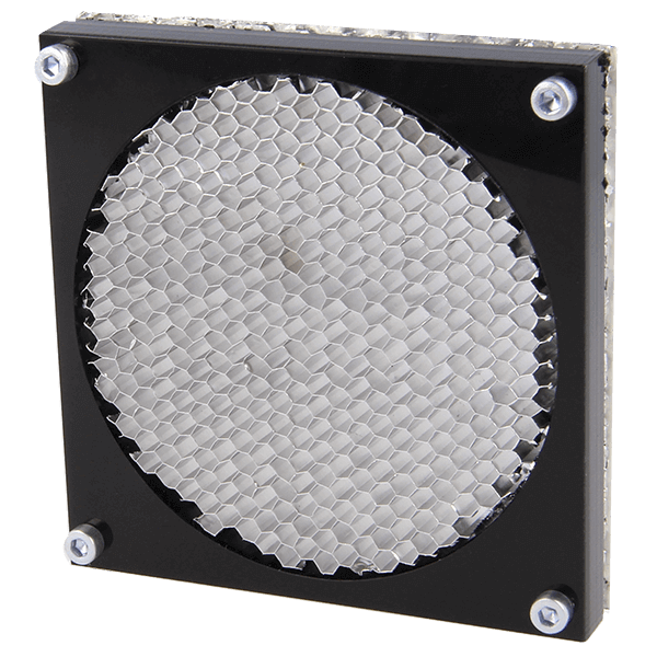 9530 series - Honeycomb fan shield 80 x 80 mm example