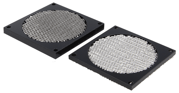 9530 series - Honeycomb fan shield are available in  6,35 mm & 12,7 mm thickness