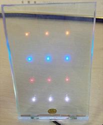 Transparent shielding foil for EL panel
