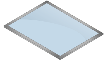Transparent Emi Rfi Shielding Foil Windows With Good Light