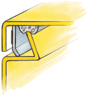 Illustrative customized gasket