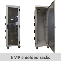 EMP shielded racks