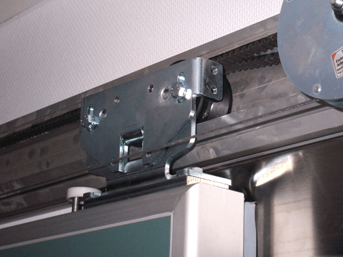 EMI / RFI terlindung dari pintu geser