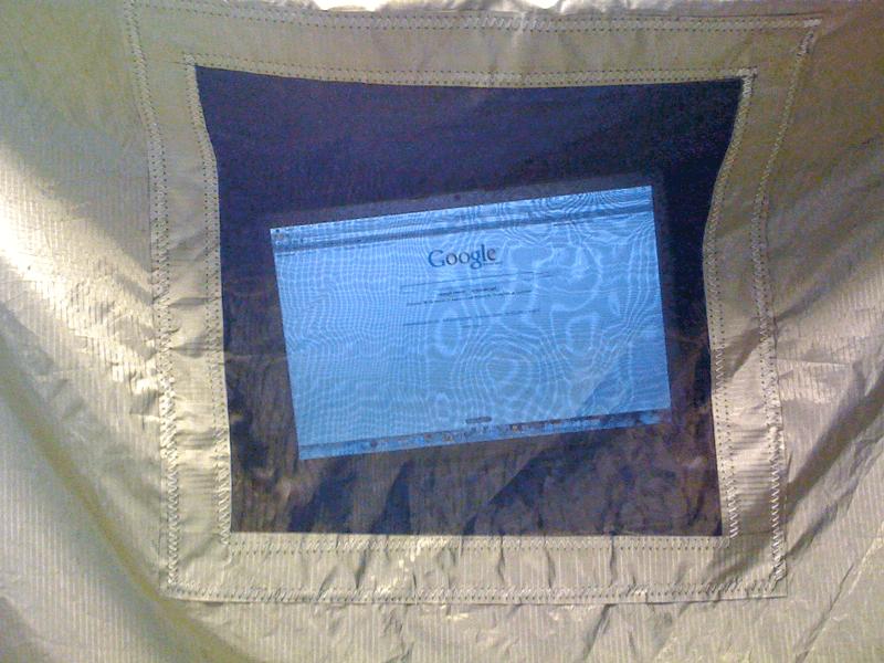 Példa kép Árnyékolt szellőzőhálóval