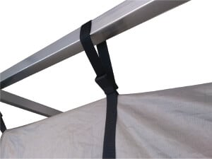 Faraday tent to frame connection  sc 1 st  Holland Shielding Systems & Faraday tent | EMI/RFI-shielding tent | Instant Faraday cage
