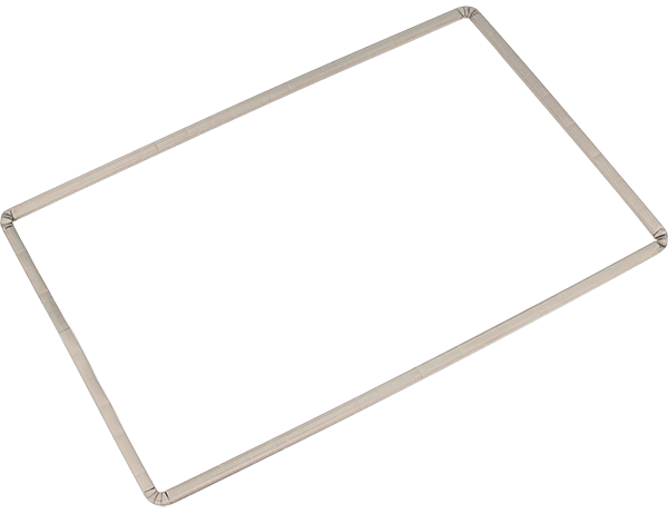 8100 series Frame gasket; example of larger dimensions (1.0 x 0.6 m)