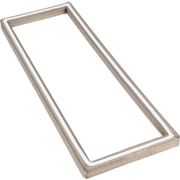 8100 Frame gasket; conductive textile version with self-adhesive on the back