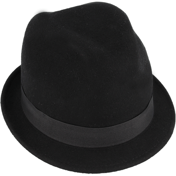 Shielded hats black : Shielded hat in a black color