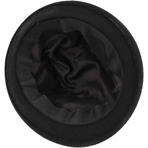 Shielded hats black inside : The shielding fabric is concealed in the lining of the hat. This allows the hat to feel like any other hat