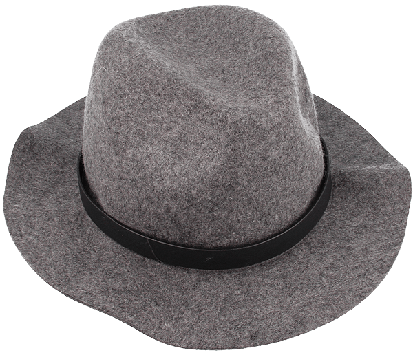 Shielded hats gray : Shielded hat in a gray color