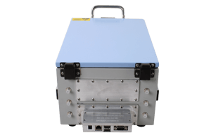Medium performance shielded box MPSB-23-32-16 back view