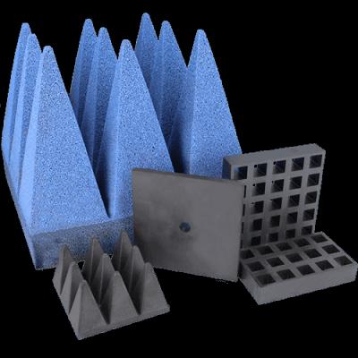 EMI & RFID absorbers, ferrites & pyramids