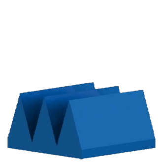 PU foam based wedge absorbers