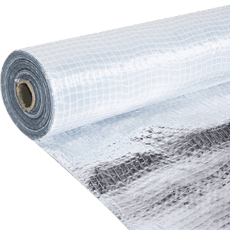 Amucor foil with a reinforcement net