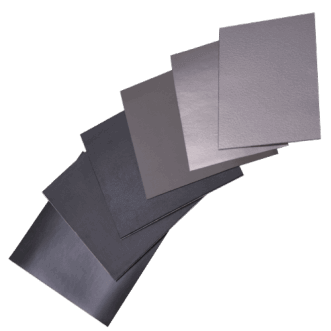 Flexible EMI absorber sheets