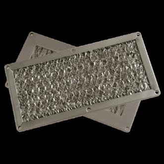 Paneles de ventilación del filtro de polvo EMC