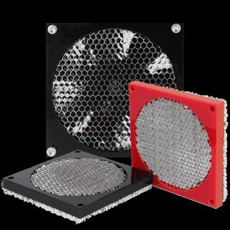 EMC woven mesh ventilation panels